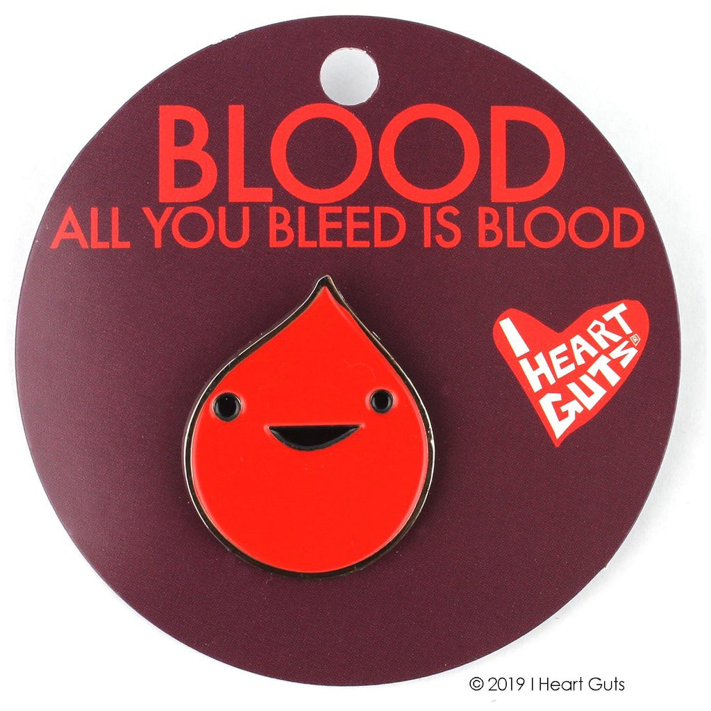 Blood Lapel Pin Package