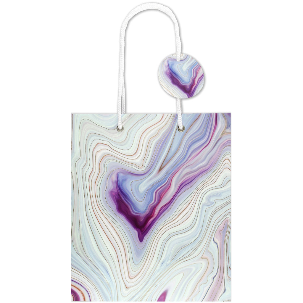 Blue Agate Gift Bag