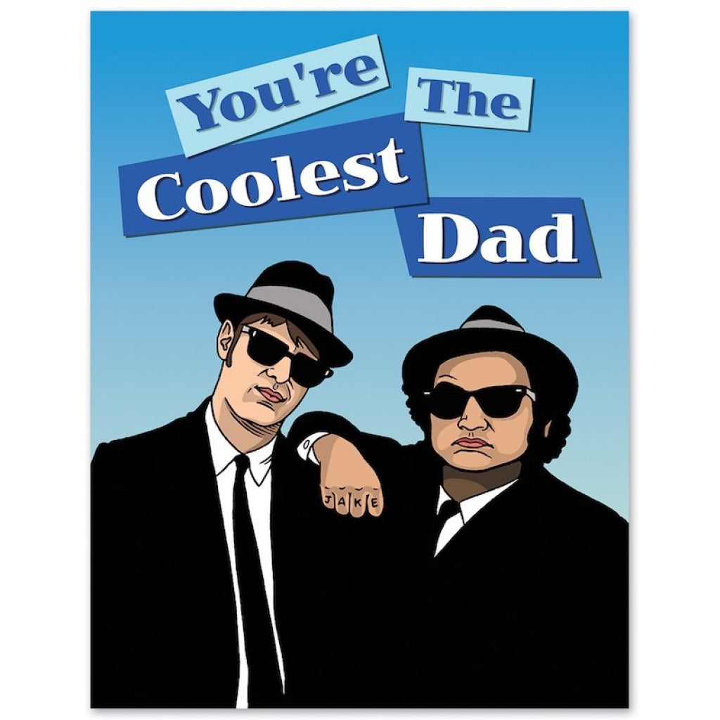Blues Brothers Cool Dad Card