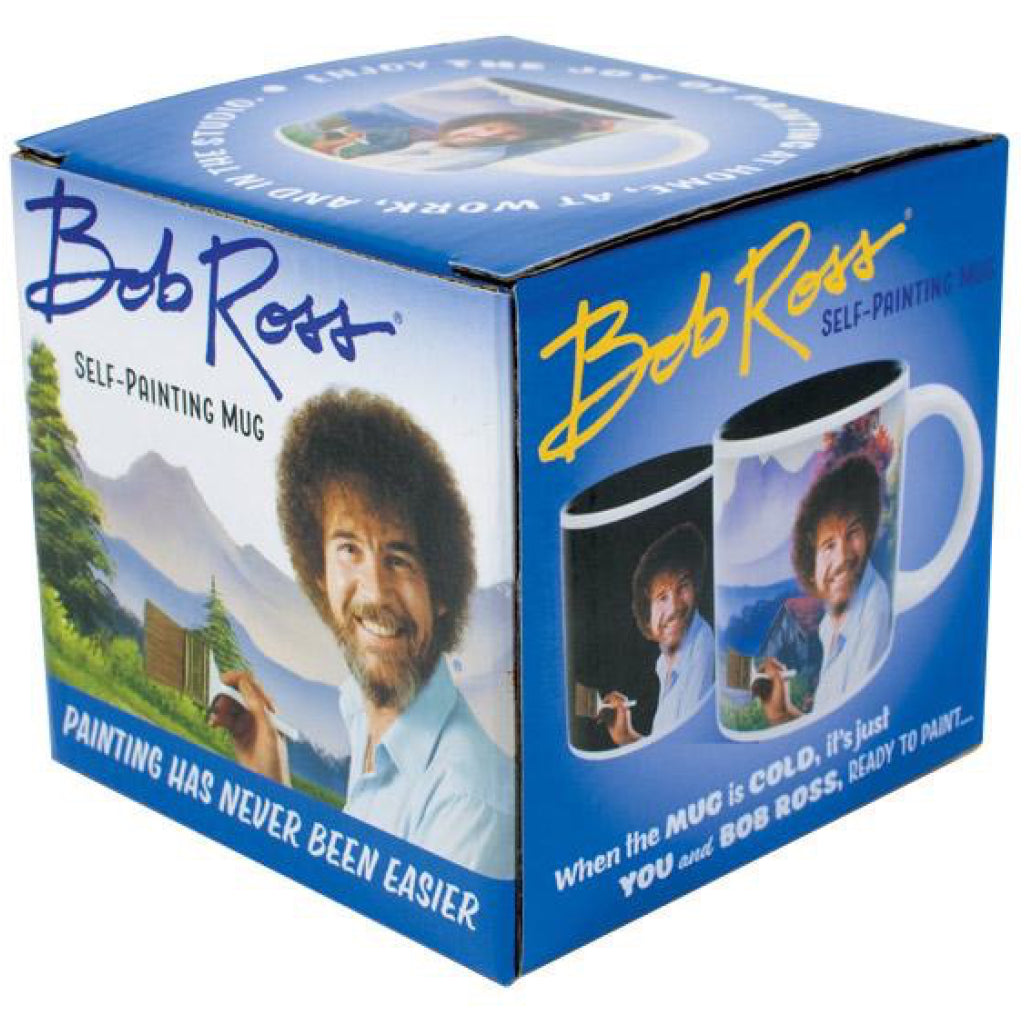 Bob Ross Self-Painting Mug Box