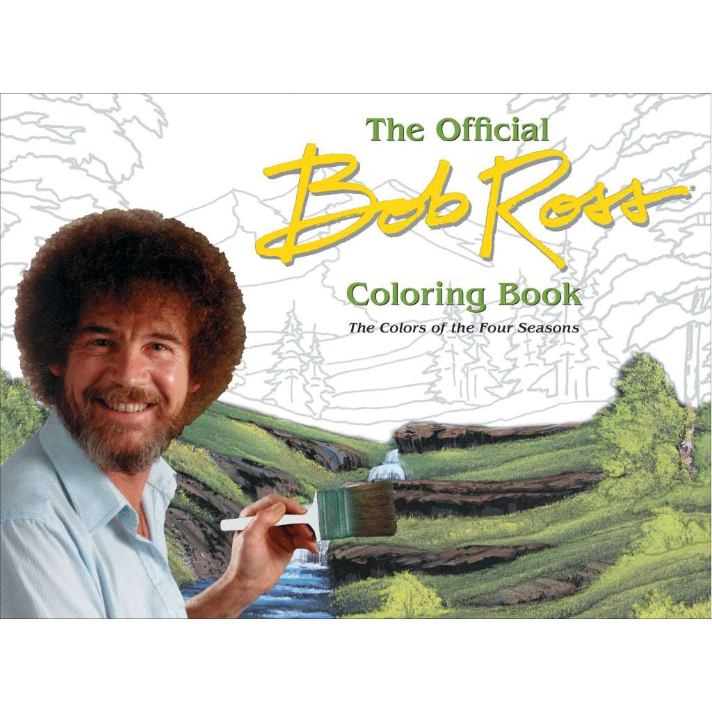Bob Ross Colouring Book- Four Seasons