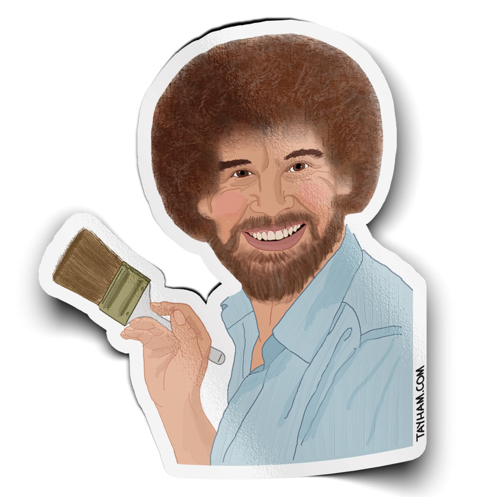 Bob Ross Sticker