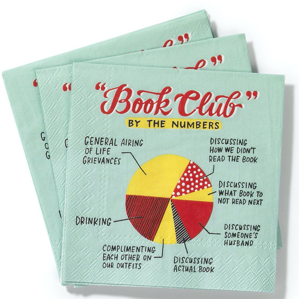 Book Club Napkins