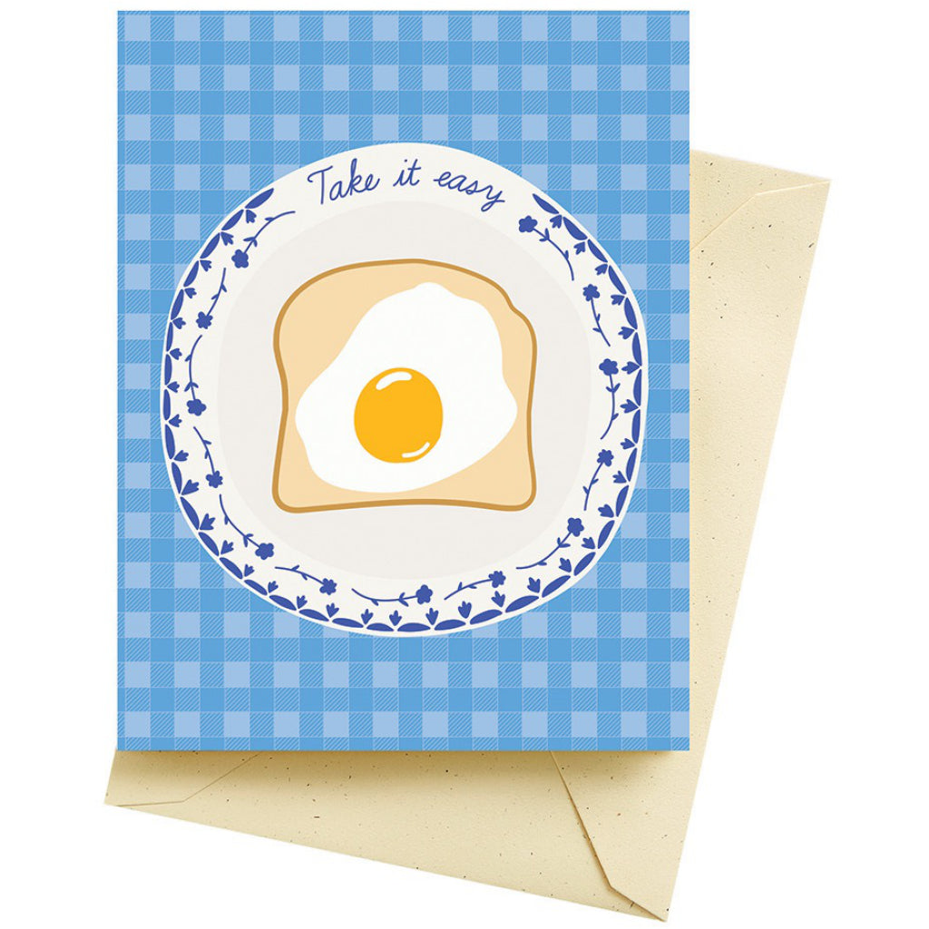 Breakfast Egg Mother's Day Card