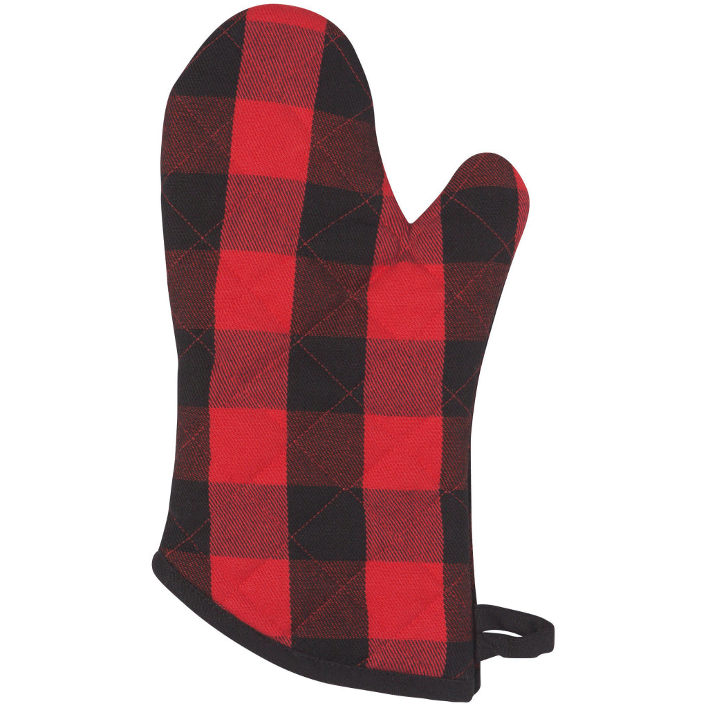 Buffalo Check Single Oven Mitt