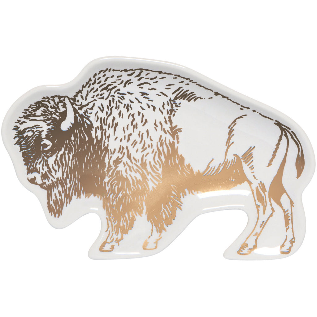 Buffalo Stay Wild Trinket Tray