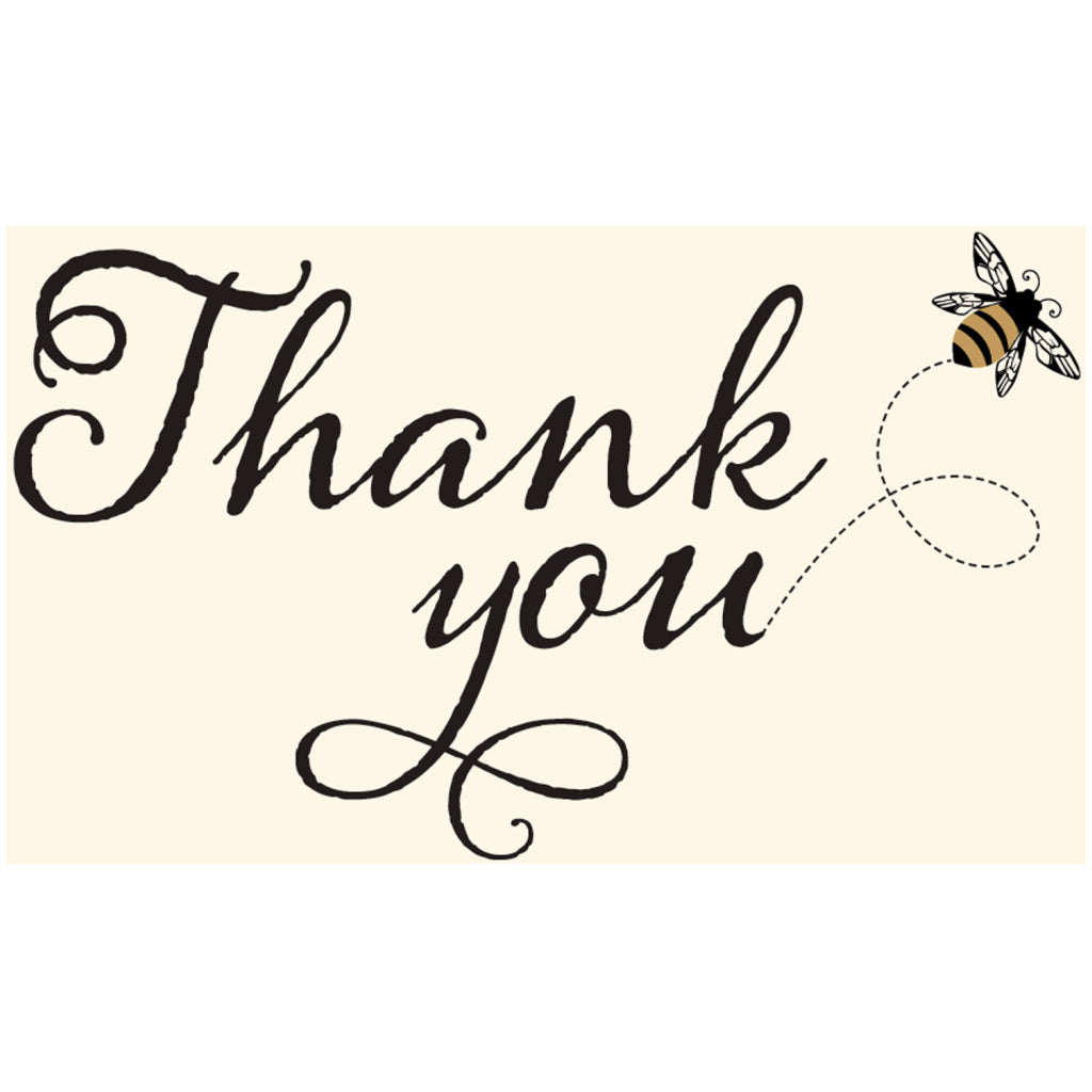 Bumble Bee Boxed Thank You Cards