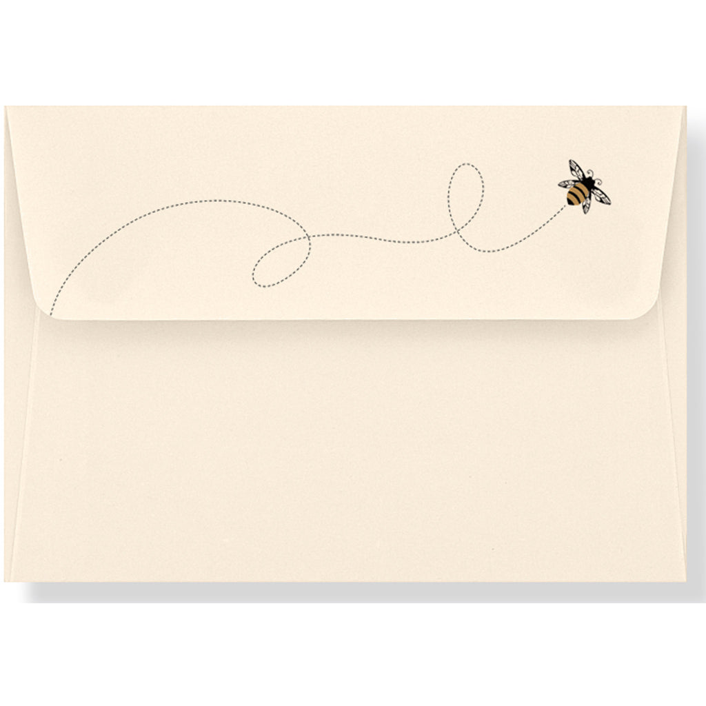 Envelope of Bumble Bee Boxed Thank You Cards.