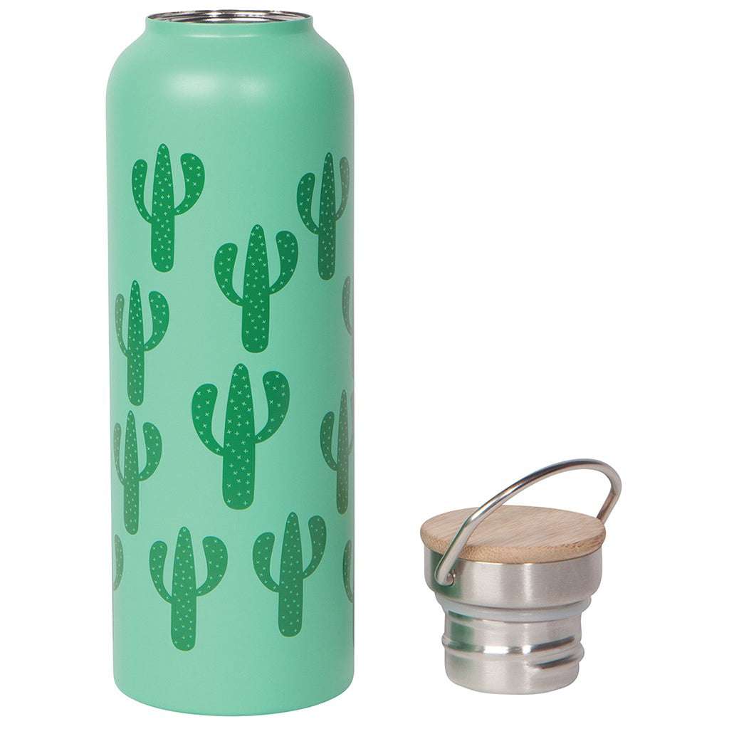 Lid of Cacti Water Bottle.