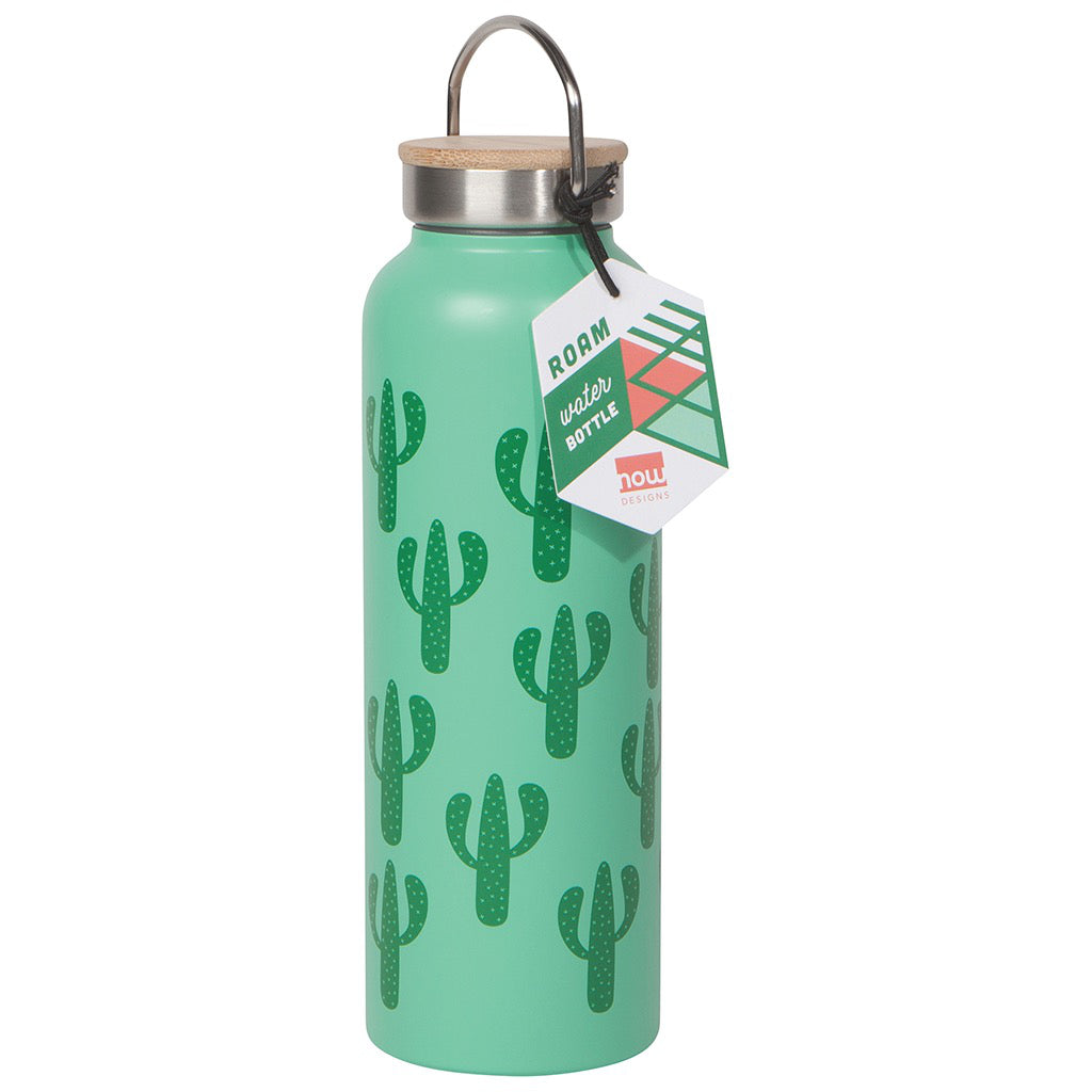 Packaging of Cacti Water Bottle.