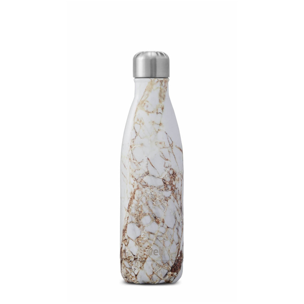 Calacatta Gold Water Bottle 17oz 500ml