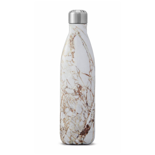 Calacatta Gold Water Bottle 25oz 750ml