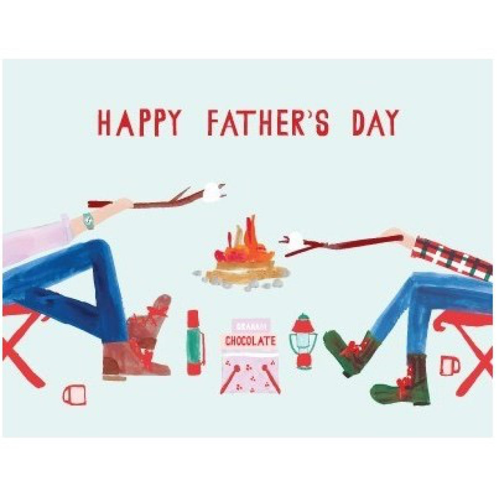 Campfire Father's Day Card
