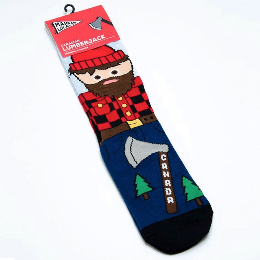 Canadian Lumberjack Socks
