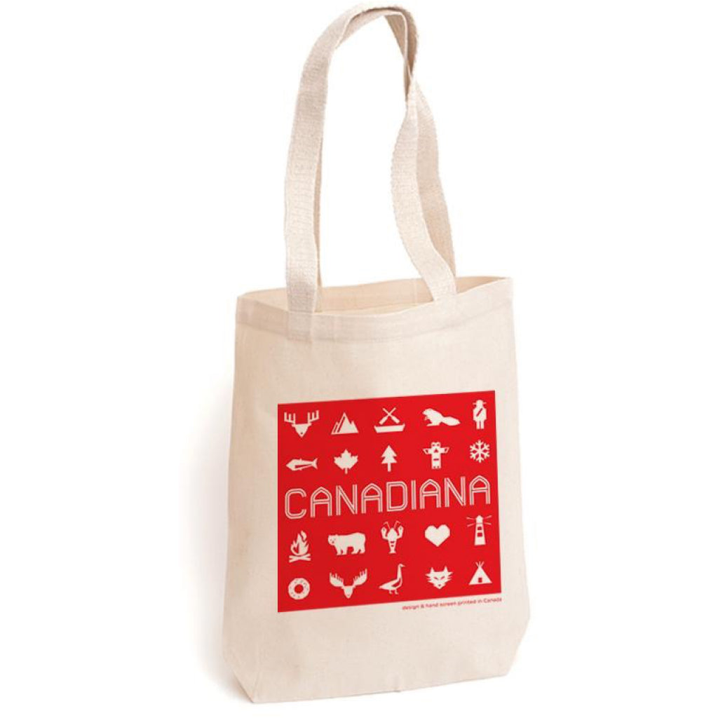 Canadiana Tote Bag