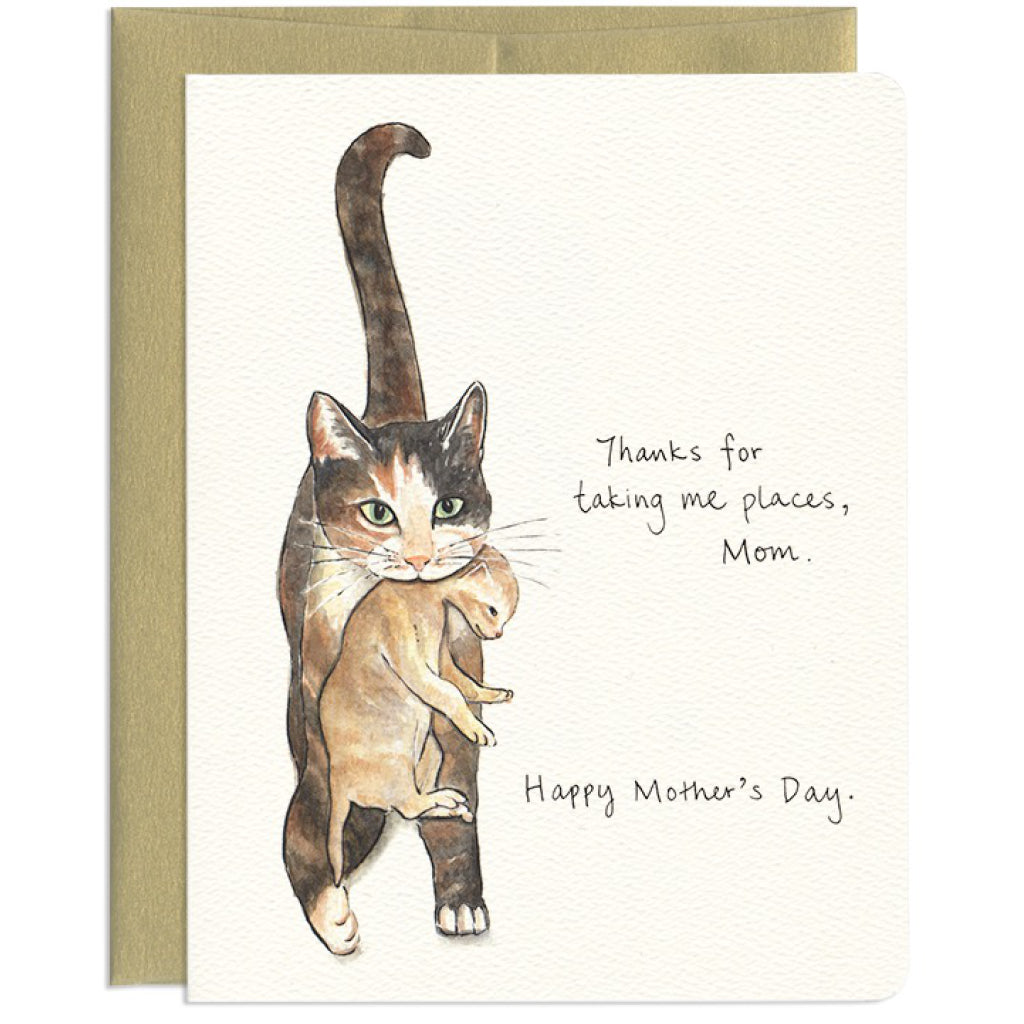 Cat Mom Card