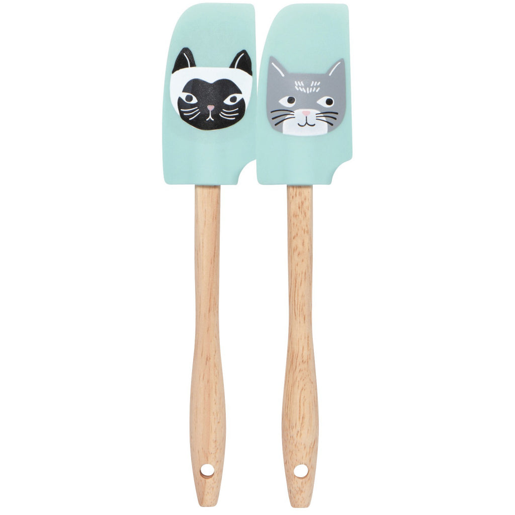 Cats Meow Mini Spatulas Set of 2