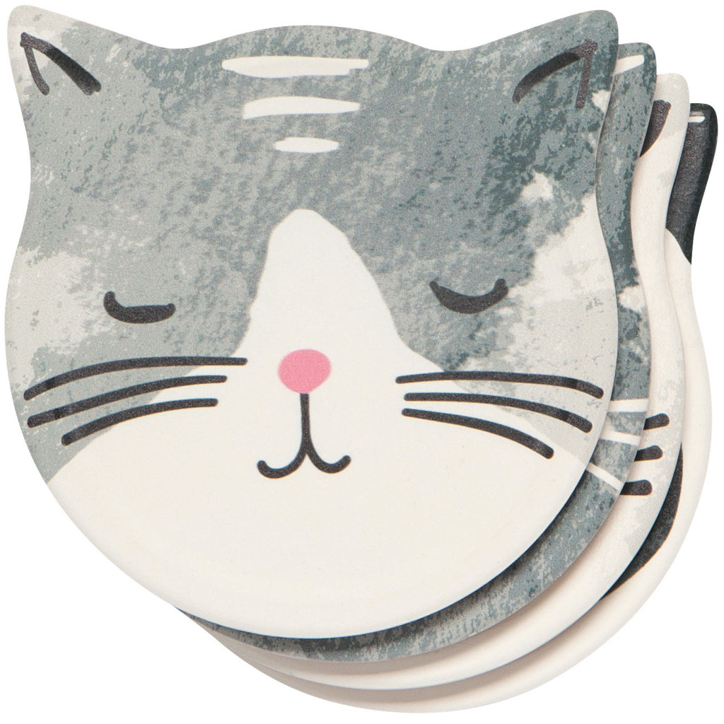 Cat's Meow Soak Up Coasters