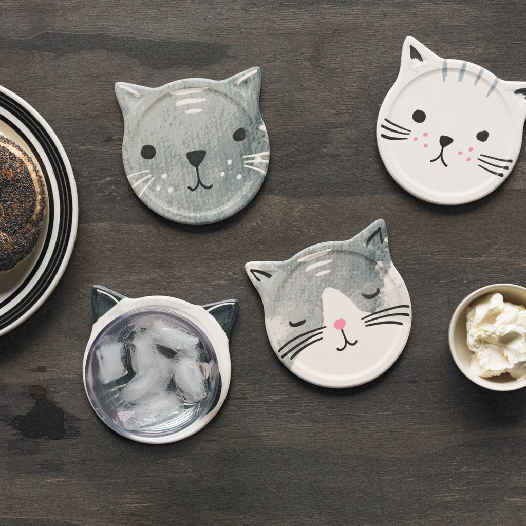Cat's Meow Soak Up Coasters Lifestyle