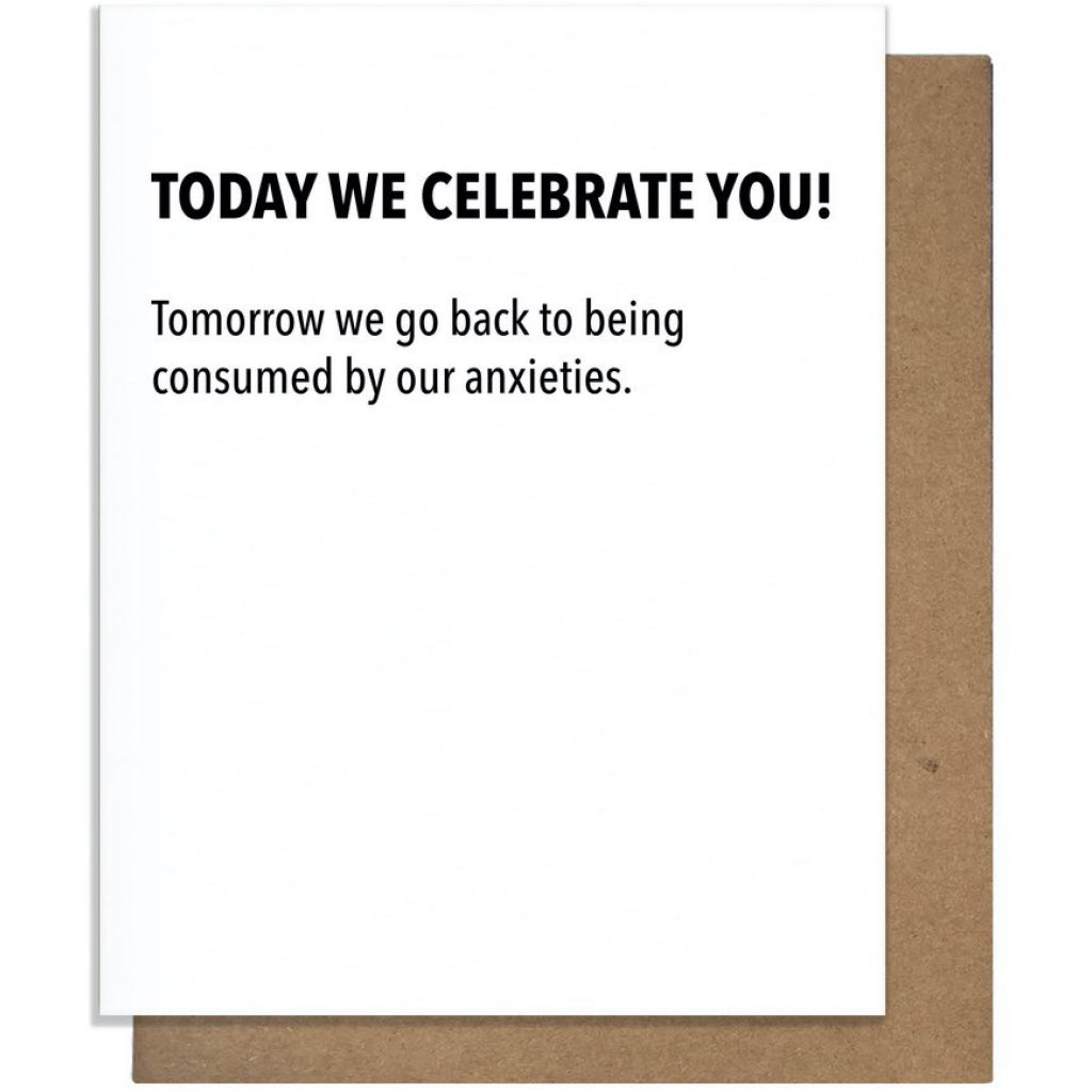Celebrating You Birthday Card