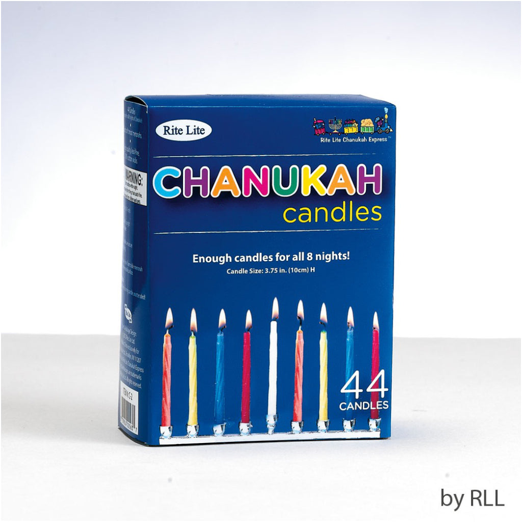 Chanukah Candles Multicolour