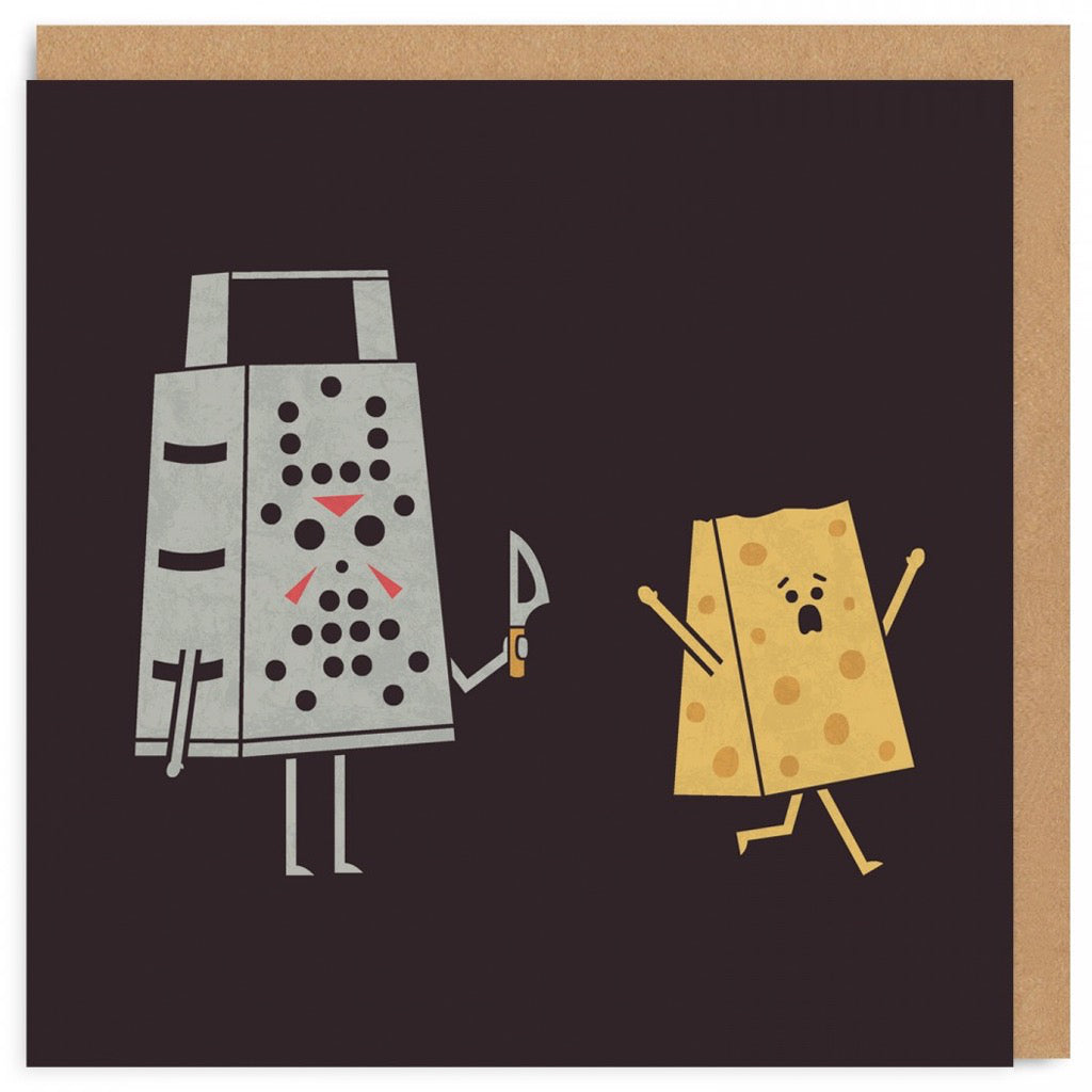 Cheese Grater Friday The 13th Card