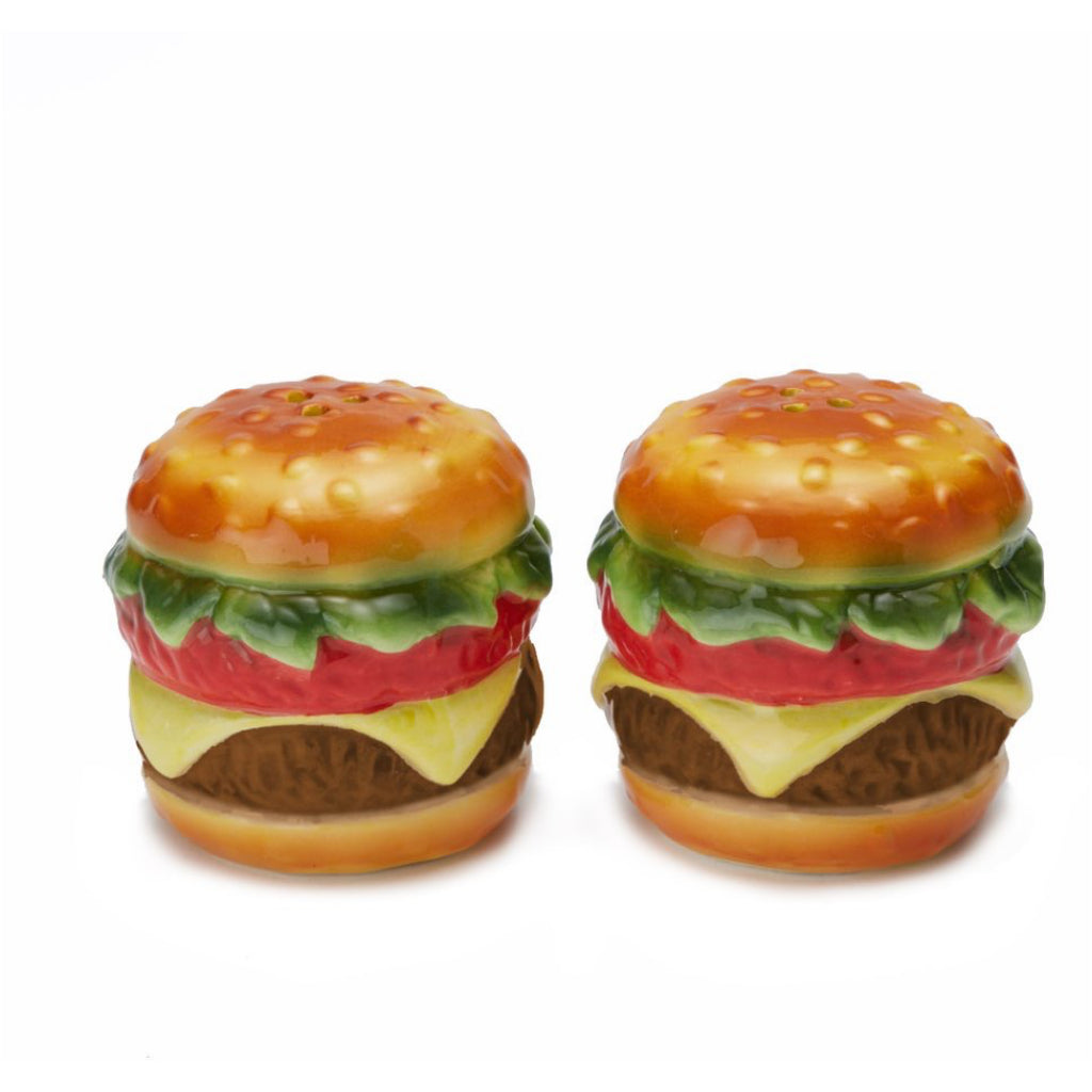 Cheeseburger Sat & Pepper Shakers