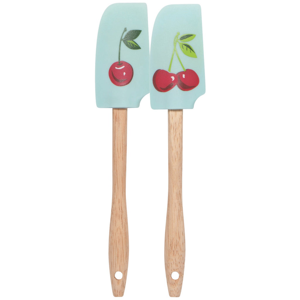 Cherries Mini Spatulas Set of 2