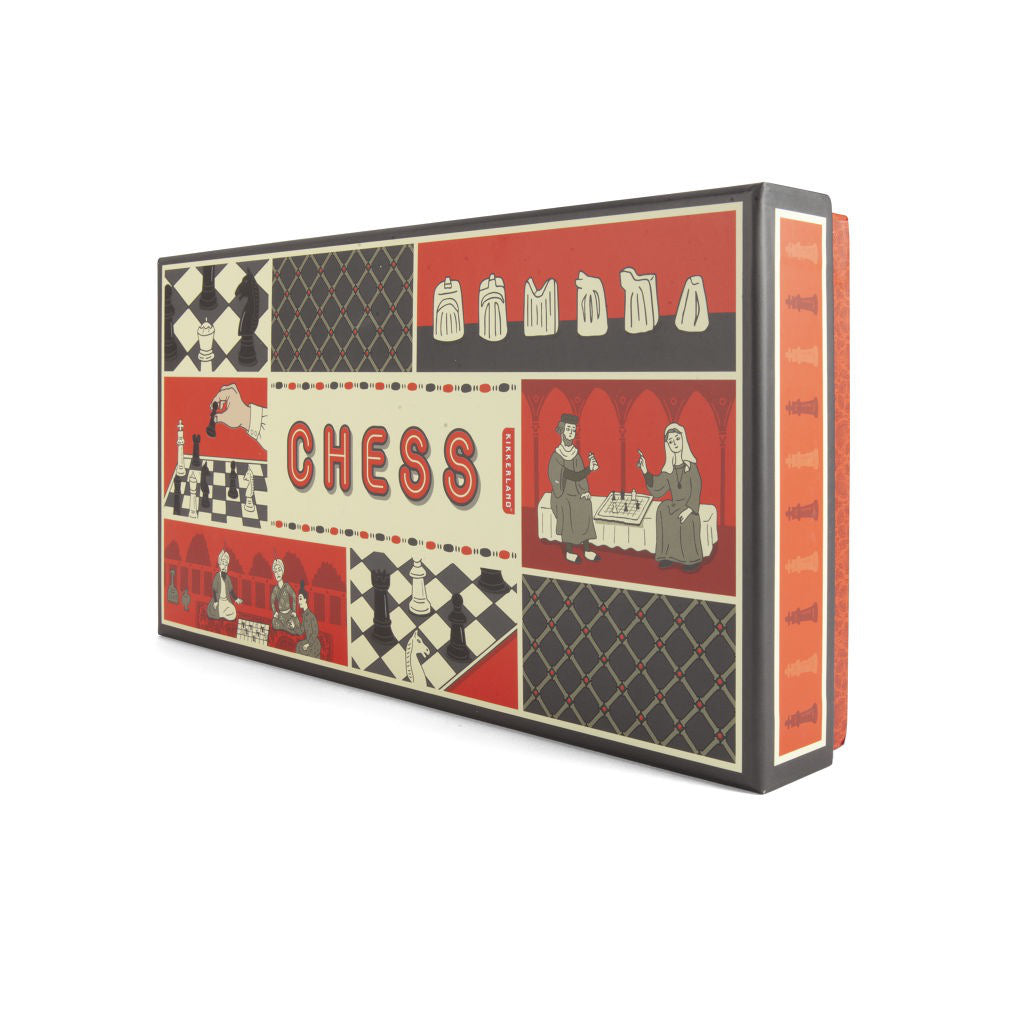 Chess Set Box Side View