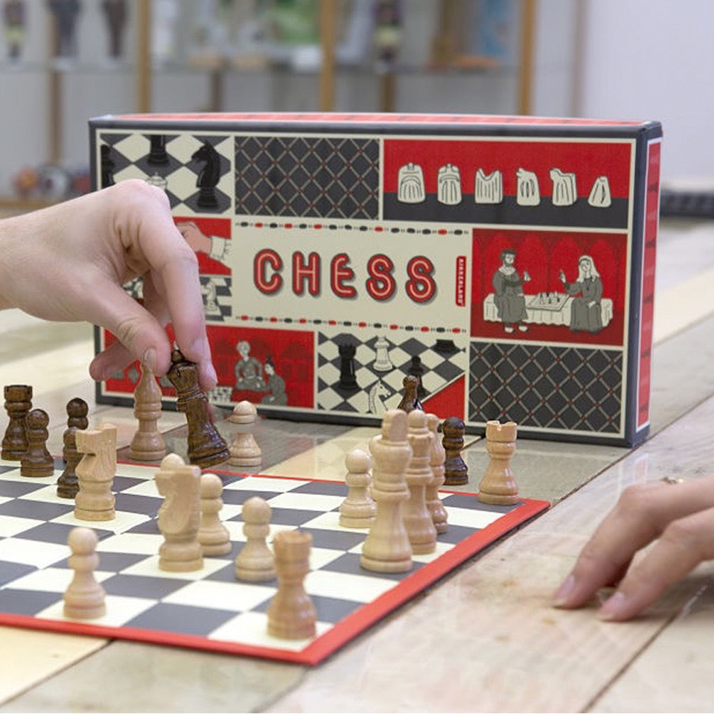 Chess Set In Use