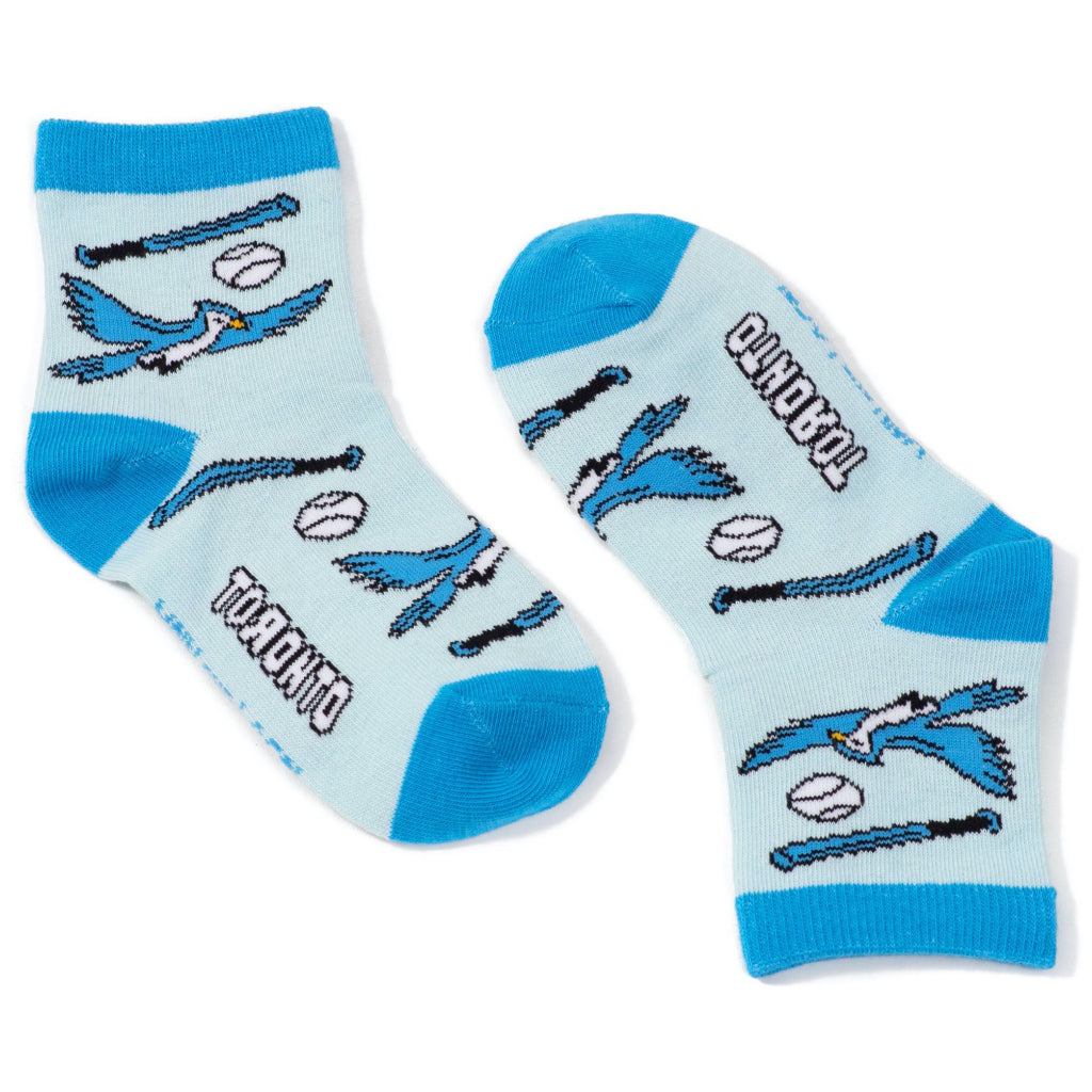 Children's Toronto Baseball Blue Jays Socks