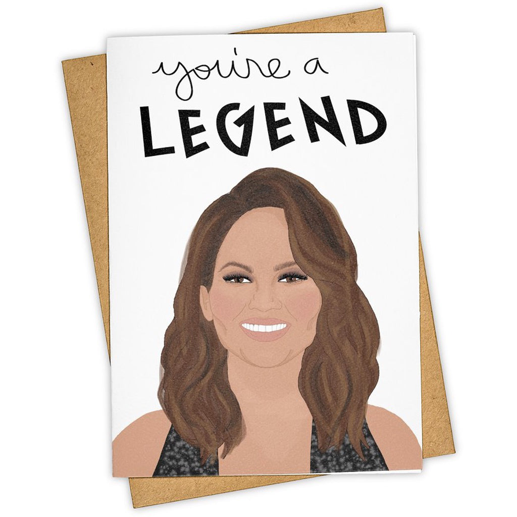 Chrissy Teigen Legend Card.