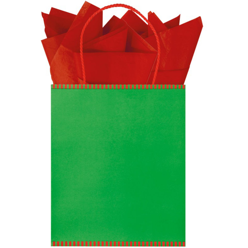 Christmas Mix Kraft Tote Bag