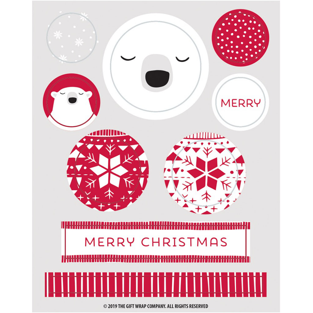 Christmas Swagger Boxed Cards Stickers