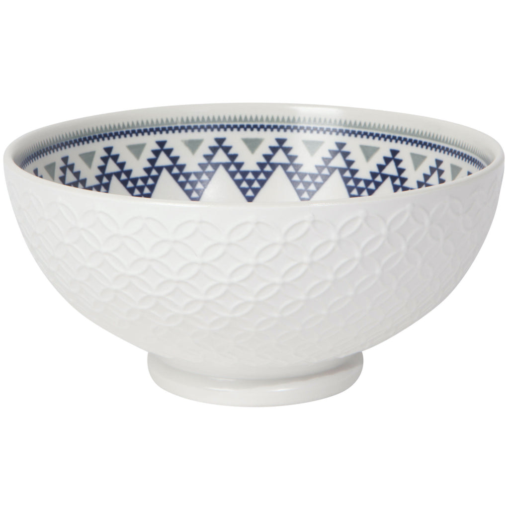Circlet Embossed 8 Inch Serving Bowl