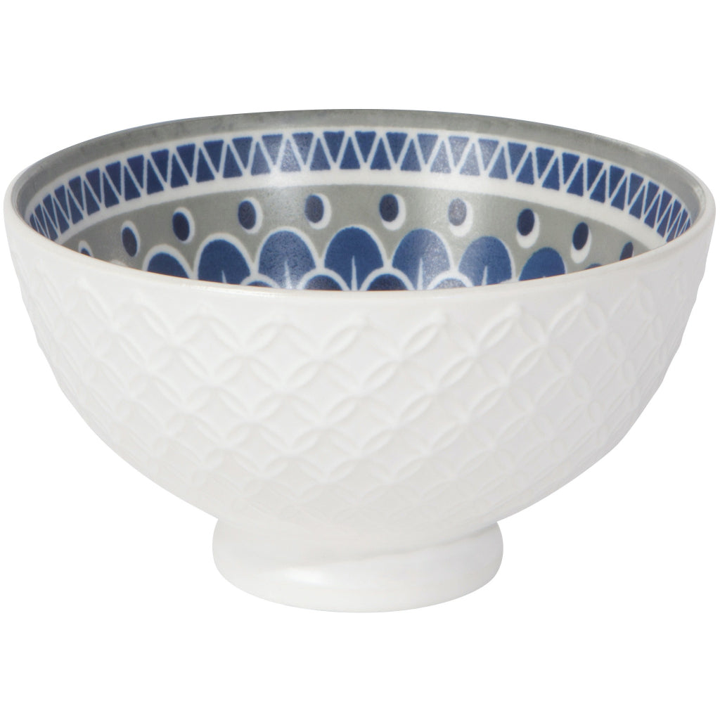 Circlet Embossed Dessert Bowl