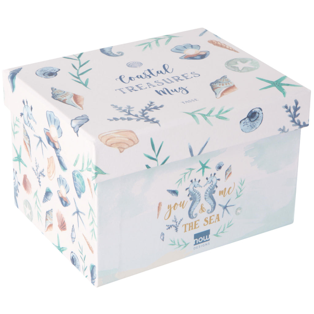 Coastal Treasures Mug Box