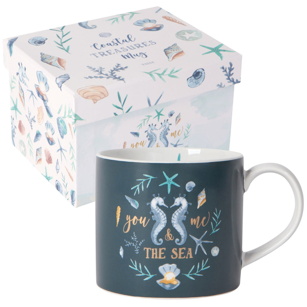 Coastal Treasures Mug With Box
