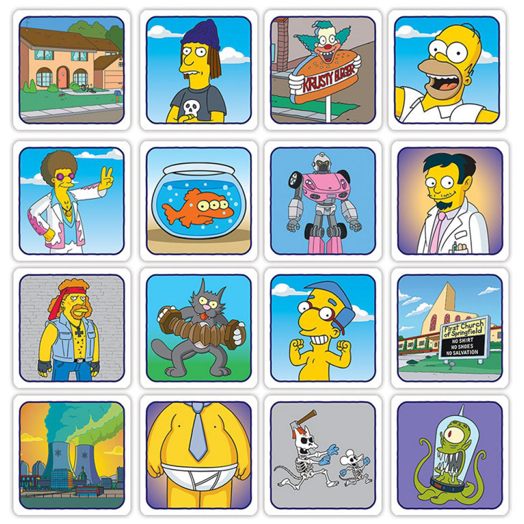 Codenames: The Simpsons Cards