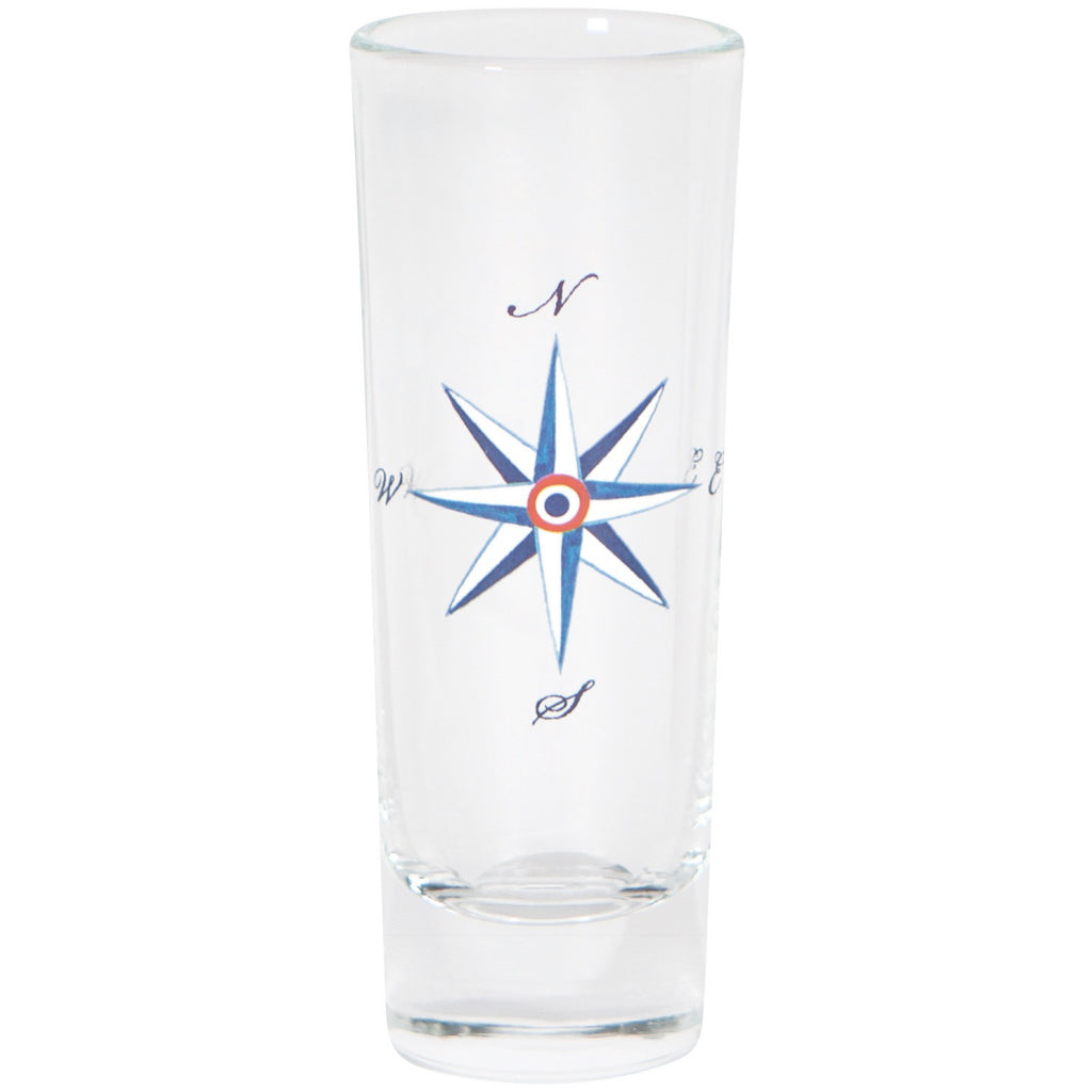 Compass Shot Glass