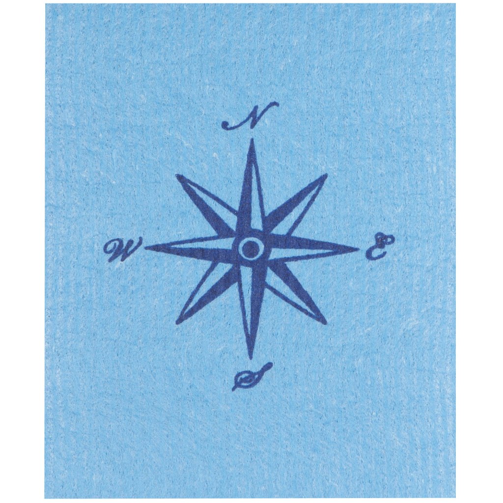 Compass Swedish Dishcloth