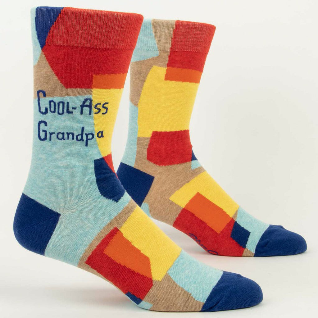 Cool-ass Grandpa Men's Socks