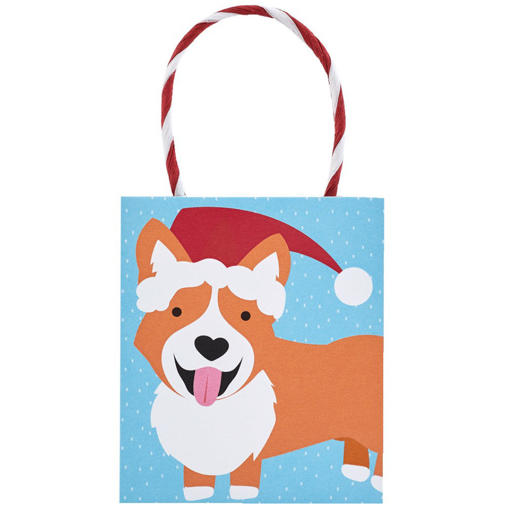 Corgi Christmas Tiny Tote
