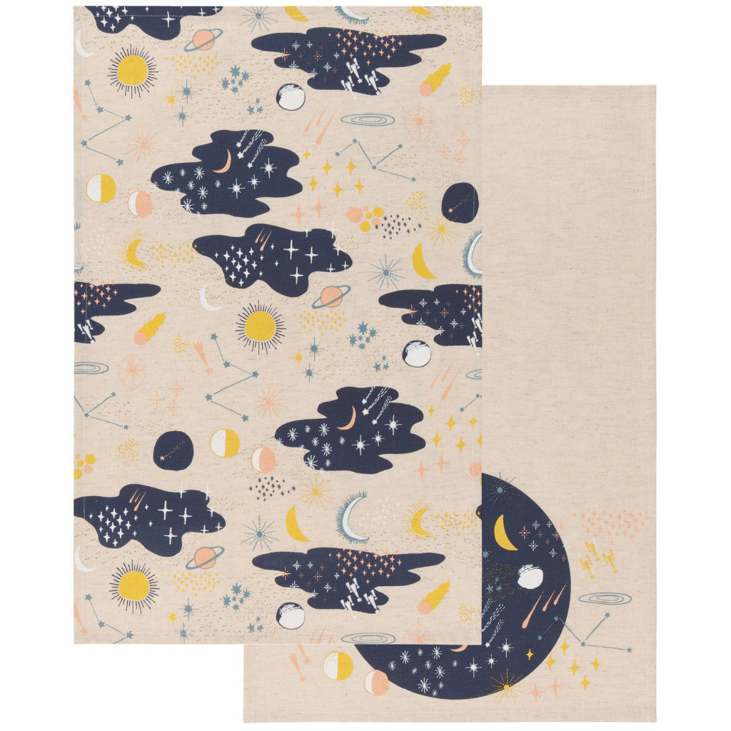 Cosmic Tea Towels