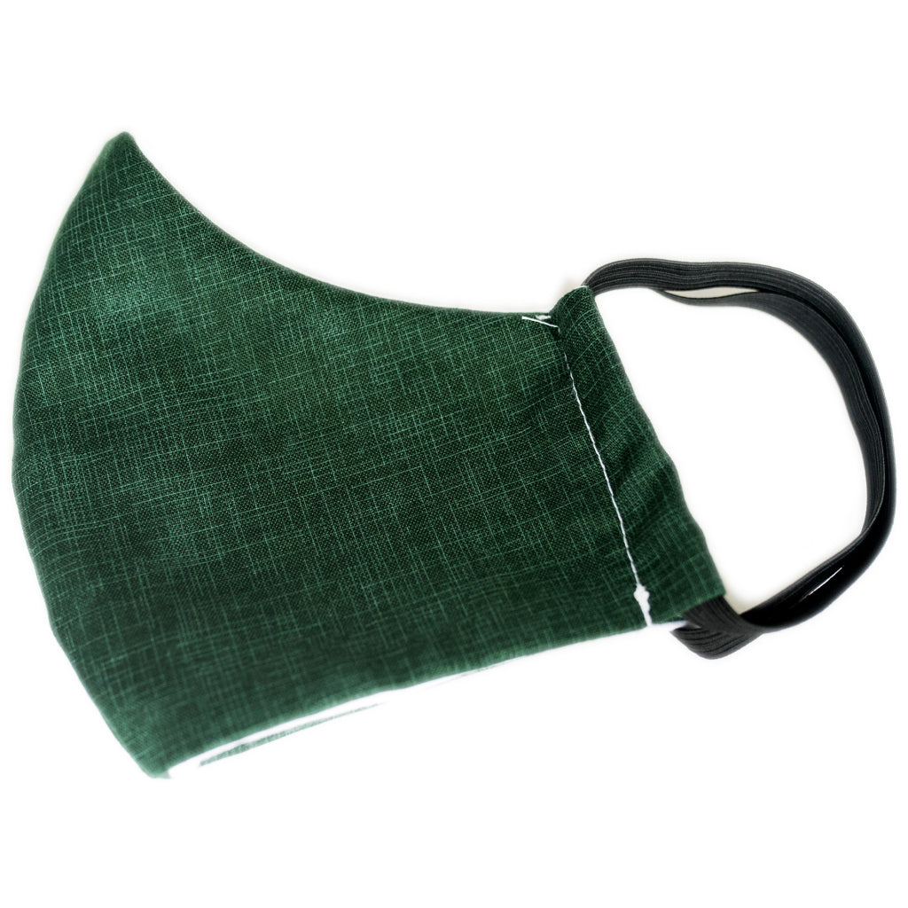 Cotton Face Mask Green