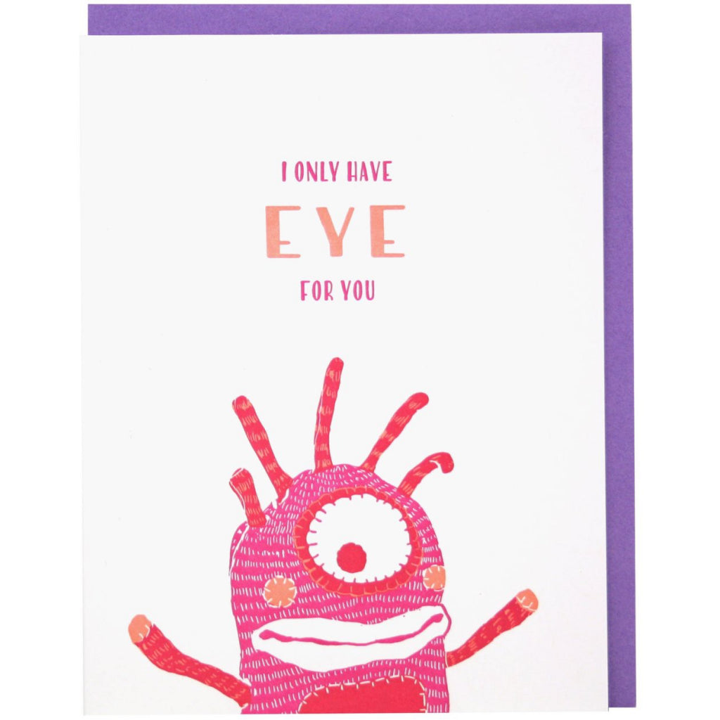 Cyclops Love Card
