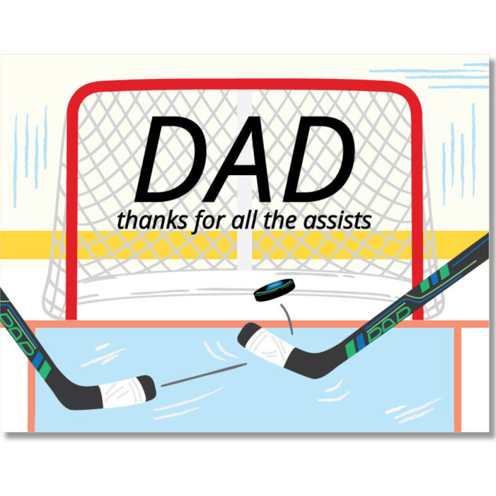Dad Assists Card