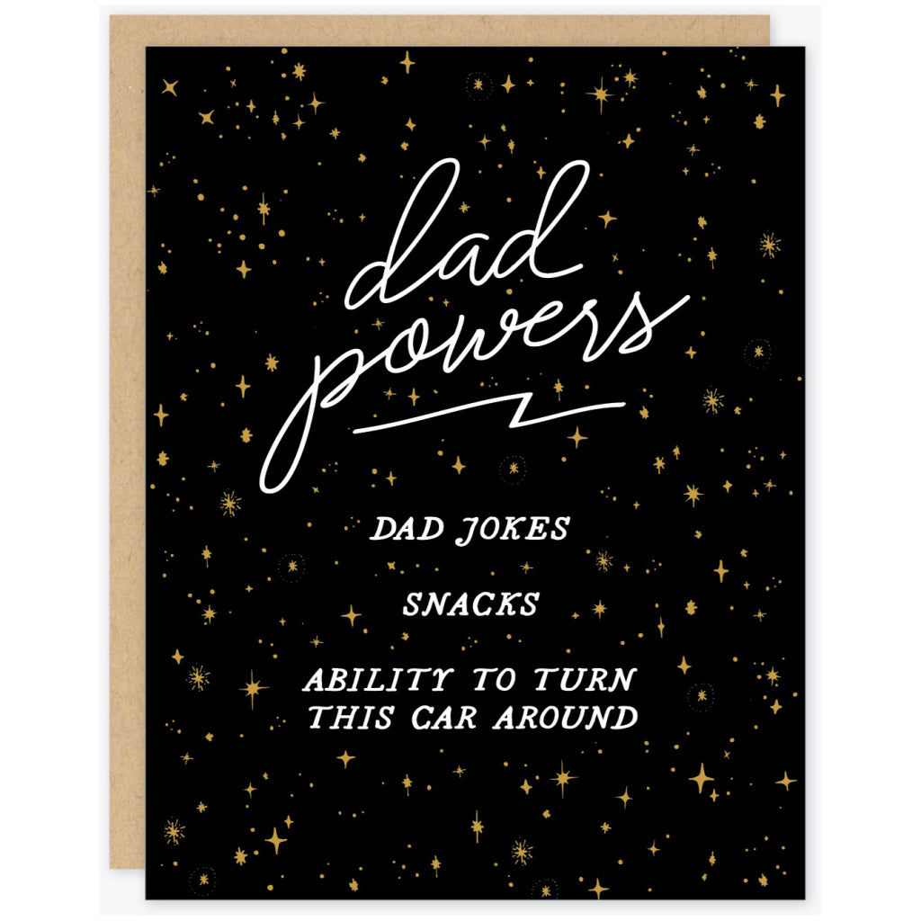 Dad Powers Card