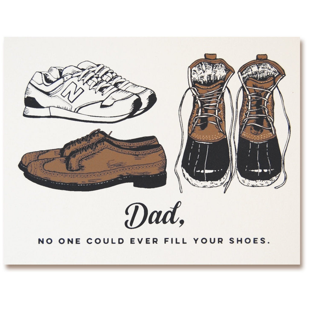 Dad Shoes Father's Day Card