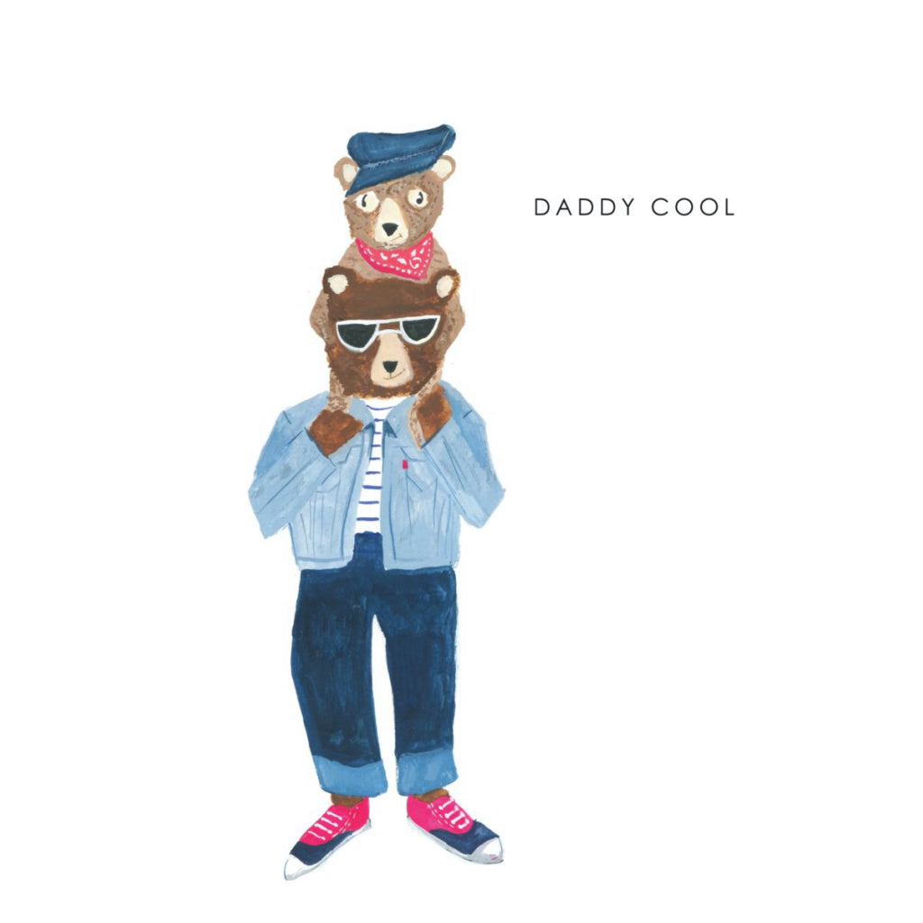 Daddy Cool Bears Card